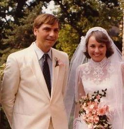 Clay and Fredericka Thompson Wedding Photo