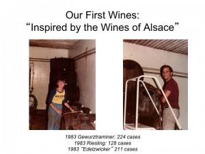 Claiborne & Churchill's first vintage
