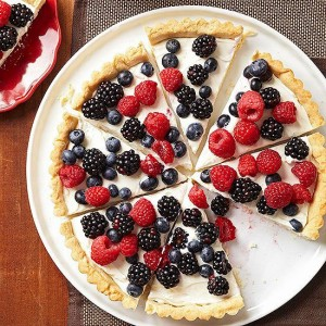 Berry Tart with Lemon Cookie Crust via better homes and Gardens