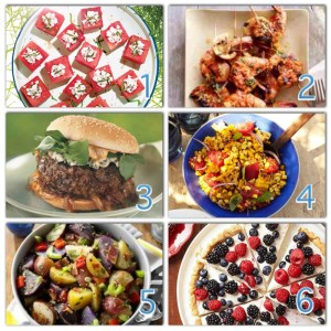Recipes for your July 4th Celebration