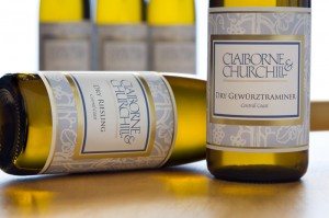 Claiborne & Churchill Dry Gewurztraminer & Dry Riesling