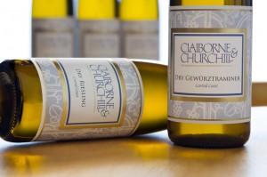 Claiborne & Churchill Dry Gewurztraminer & Dry Riesling