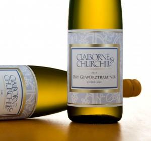 Claiborne & Churchill 2013 Dry Gewurztraminer