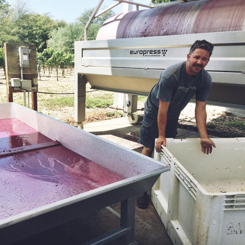 Coby Parker-Garcia, Winemaker