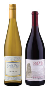 New Year, New Wines: Claiborne & Churchill Pinot Blanc and Runestone Pinot Noir