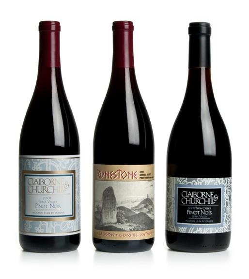 Claiborne & Churchill Pinot Noirs
