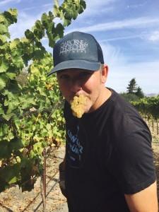 Winemaker Coby Parker-Garcia