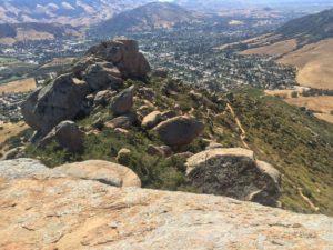 bishop's peak, claiborne & churchill, hike, Trails of SLO Wine Country