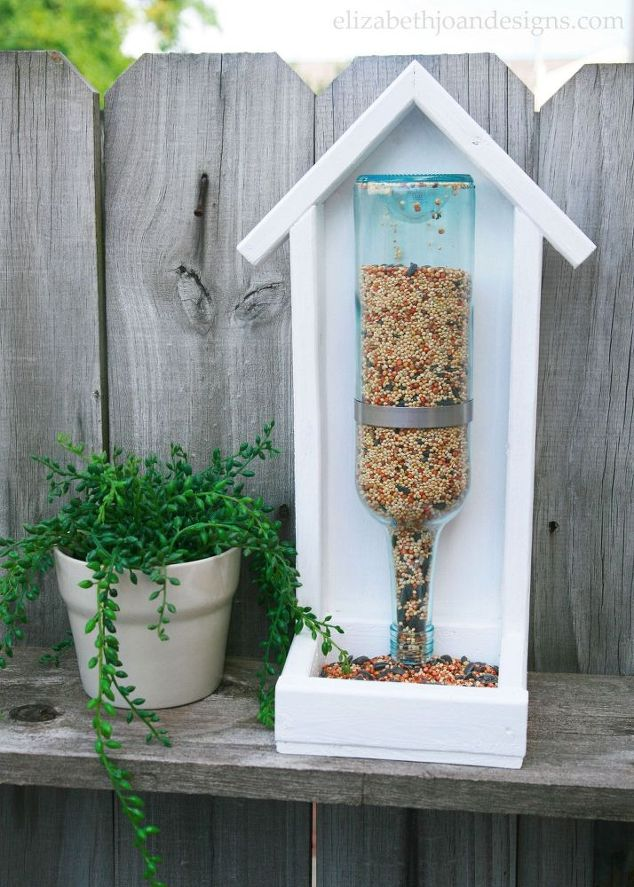 Claiborne & Churchill, bird feeder, bottle, wine, Pinterest & Wine