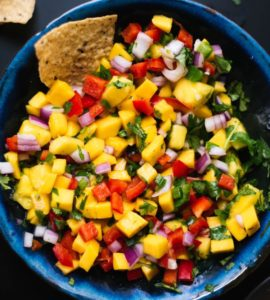 Cinco de Mayo: Mango Salsa paired with Claiborne & Churchill 2014 Estate Dry Riesling