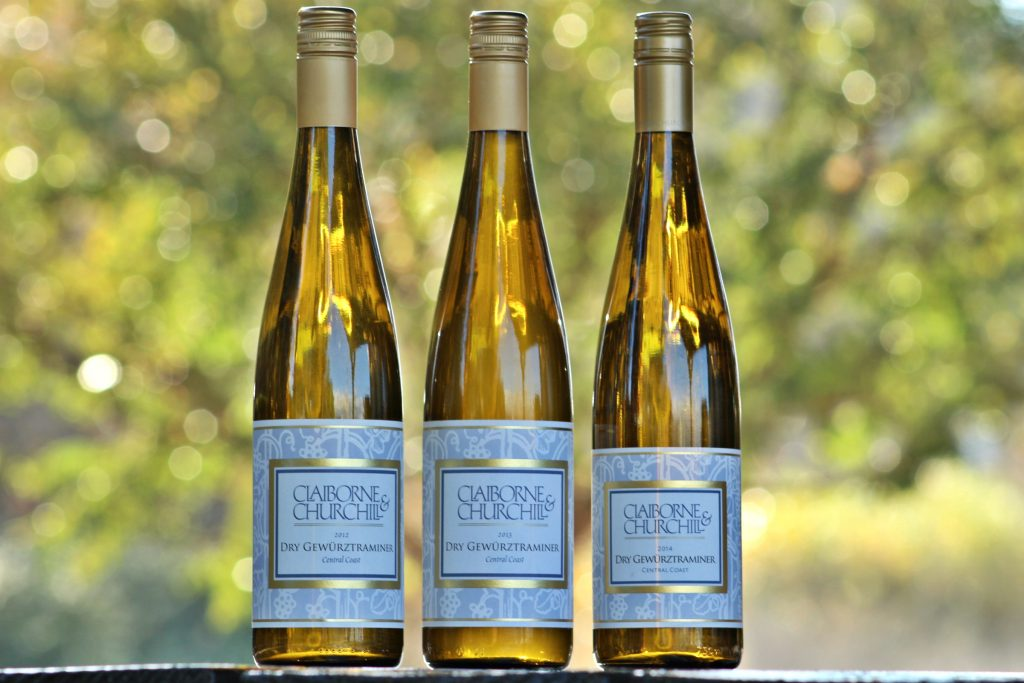 Library Dry Gewurztraminer: 2012, 2013 and 2014