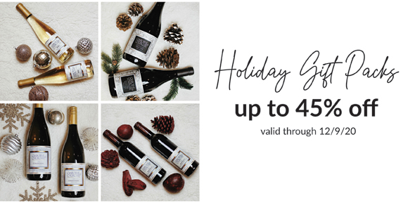 Holiday Gift Packs - up to 45% off!
